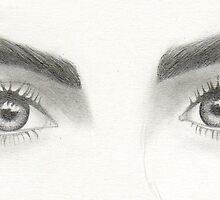 Cara Delevingne eyes. by selinaaanunezzz