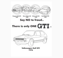 Only One GTI - Volkswagen Golf by jbruntondesign