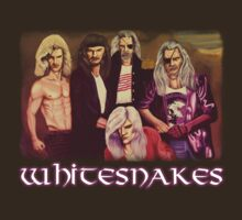 Whitesnakes  by Messypandas