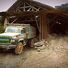 Old Nissan Truck by Charuhas  Images