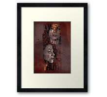 You Can't Walk Away From Your Truth Framed Print