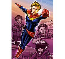 Marvelous Captain Photographic Print