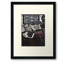 Fancy Bath Water Framed Print