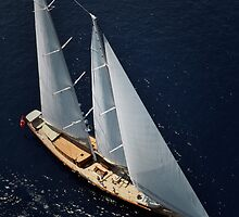 aerial sailboat photography by laikaincosmos