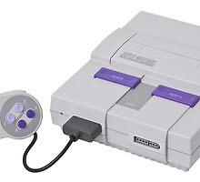 Super Nintendo Entertainment System by Razzman457