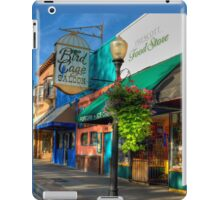 Historical Whiskey Row Prescott Arizona iPad Case/Skin