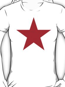 Vintage Style Red Star Shirt T-Shirt