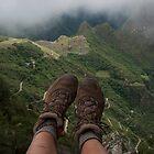 Machu Picchu 4 by Tess Mitchell