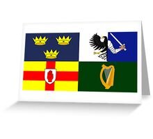 Four Provinces Flag of Ireland Greeting Card
