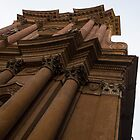 Architecture in Rome, Italy - One of Over 900 Churches in the City by Georgia Mizuleva