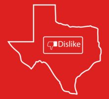 Dislike Texas by prolinedesigns