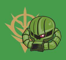 Zaku II by armoredfoe