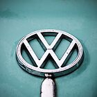 VW Beetle Badge #1 by Deanna Gardam
