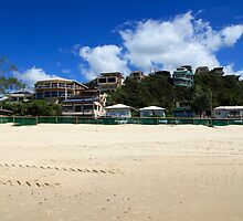 Beach Houses Currumbin by Noel Elliot