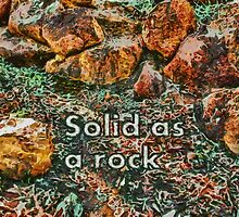 Solid as a rock by Fernando Fidalgo