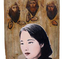 Portrait of Jiang Qing by robertpriseman