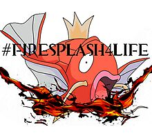 #FireSplash4Life Photographic Print