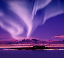 Northern Lights aurora borealis by surangaw