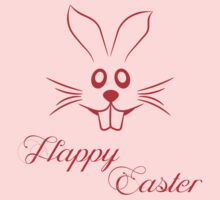 Happy Easter Rabbit by refreshdesign
