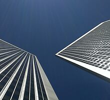 Twinned Towers by stvrsnbrgr