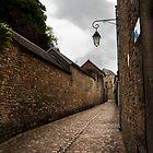 Rue aux Prêtres by Delphine Comte