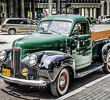 1940s Studebaker pickup Truck by Chris L Smith