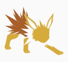 Minimalist Jolteon  by AreGengarEdible