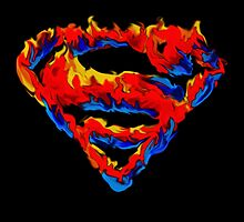 Superman logo by Adam Dens