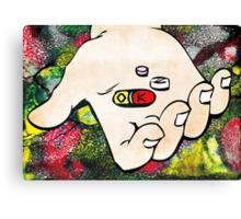 Pills are OK, STIGMA IS NOT! Canvas Print