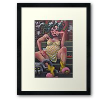 Another Saturday night with Medusa.   Framed Print