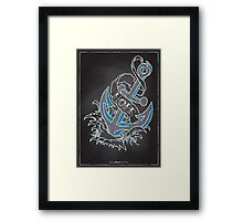 Chalk Board Tattoos - Hope Framed Print