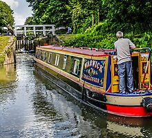 Narrowboats by Chris L Smith
