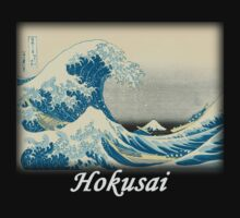 Hokusai - Under the Wave off Kanagawa by William Martin