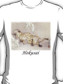 Hokusai - Winter Tiger T-Shirt