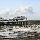 The North Pier at Blackpool Lancs by Chris L Smith
