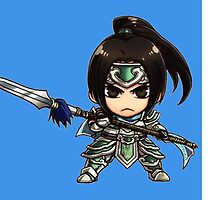 Warring Kingdoms Xin Zhao Chibi by Runehise