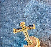 Granada Cross - Christian Cross In Nicaragua by Mark Tisdale
