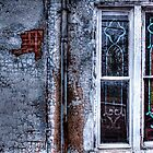Rustic Church Windows by Dana Horne