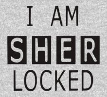 I am SHER-LOCKED … Black (1) by OliveB