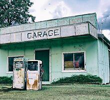 Kulpi Garage in The Darling Downs Queensland Australia by CarolHancock