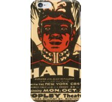 Haiti at the Copley Theater iPhone Case/Skin