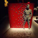 Lego Artwork, Art of the Brick Exhibition, Nathan Sawaya, Artist, Discovery Times Square, New York City   by lenspiro