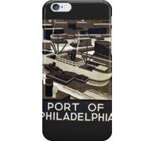 Port of Philadelphia iPhone Case/Skin