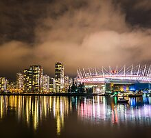 False Creek at Night by Nordic-Photo