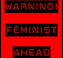 Warning! Feminist ahead by TheIzzySquishy