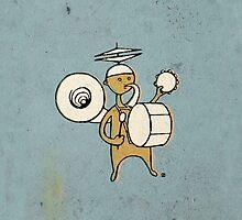 One Man Band by nestordesign