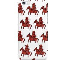Red Riders iPhone Case/Skin
