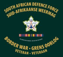 South African Defence Force Border War Veteran by civvies4vets