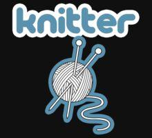 Knitter - twitter logo parody by RobertKShaw
