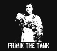 Old School … Frank the Tank (White) by OliveB